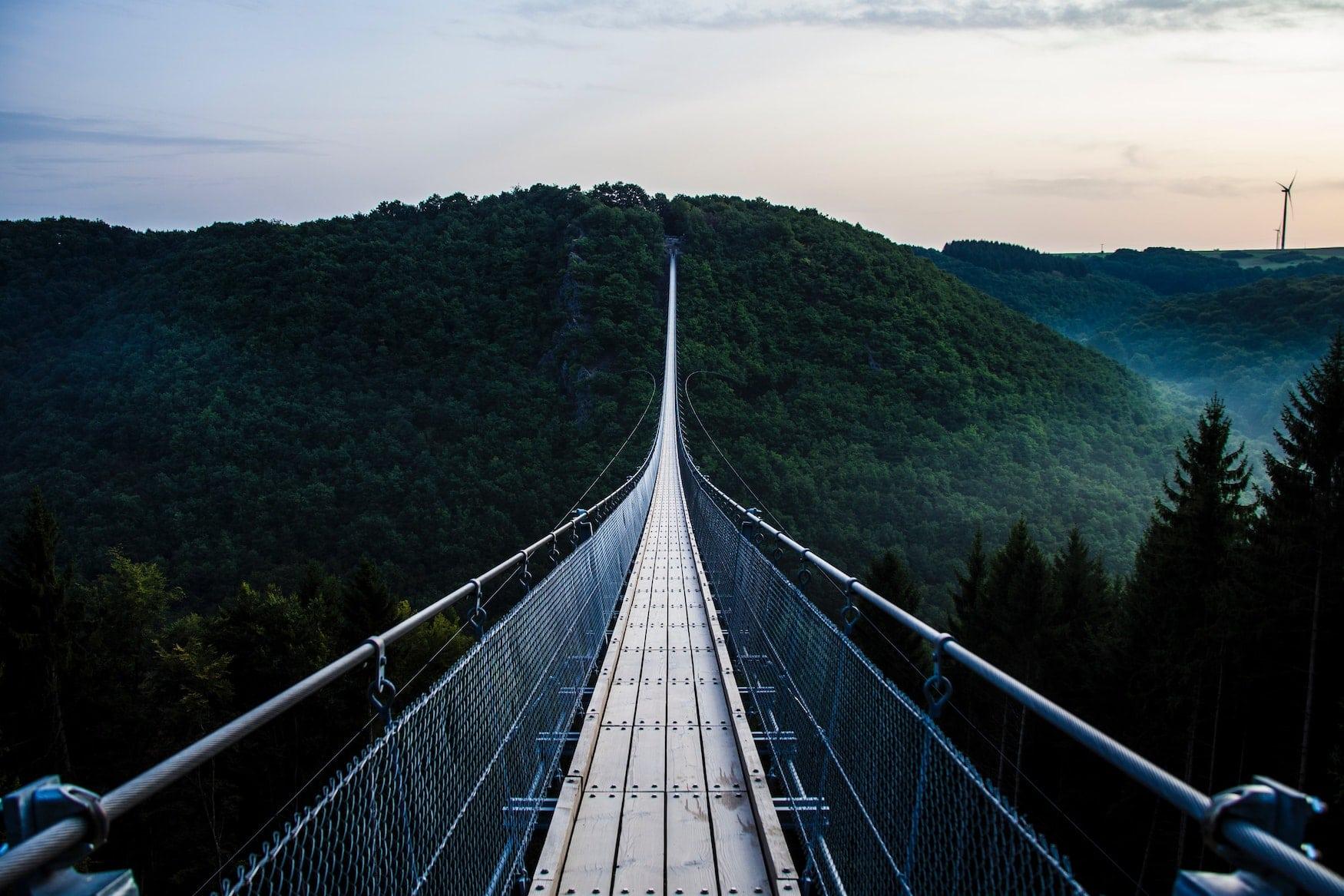 Hängeseilbrücke in Geierlay