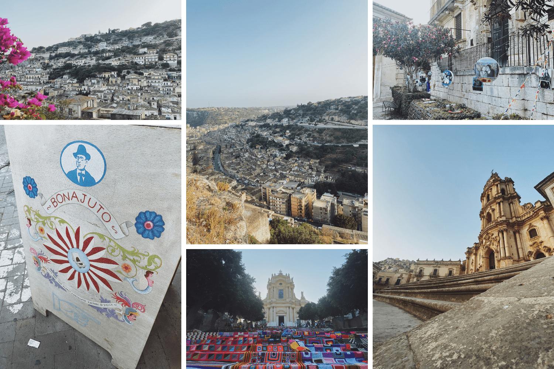 Impressionen aus einem Besuch in Modica auf Sizilien