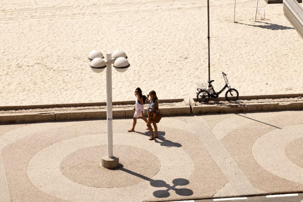 Hier trifft man sich: Strandpromenade von Tel Aviv
