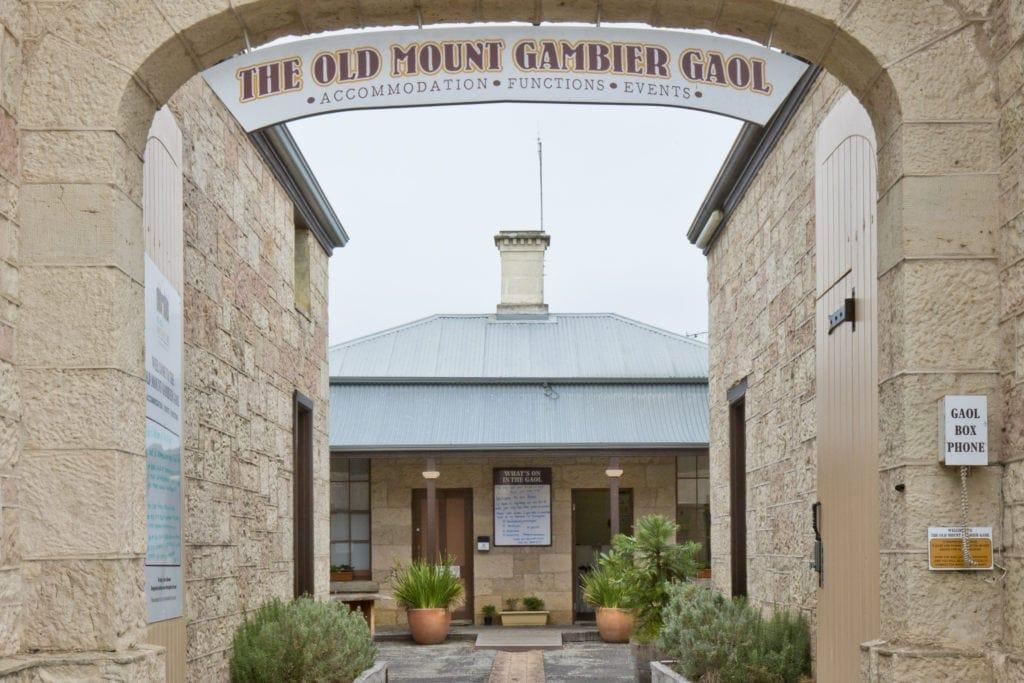 Im Old Mount Gambier Goal können Gäste in liebevoll eingerichteten Zellen nächtigen.
