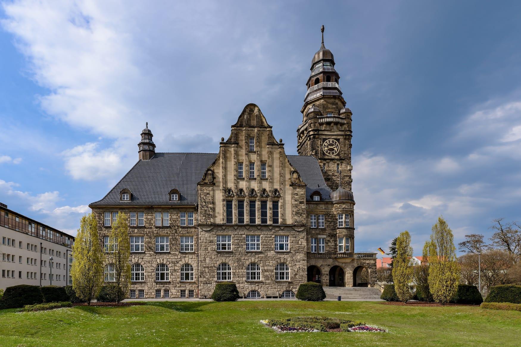 Rathaus in Wittenberge in der Prignitz
