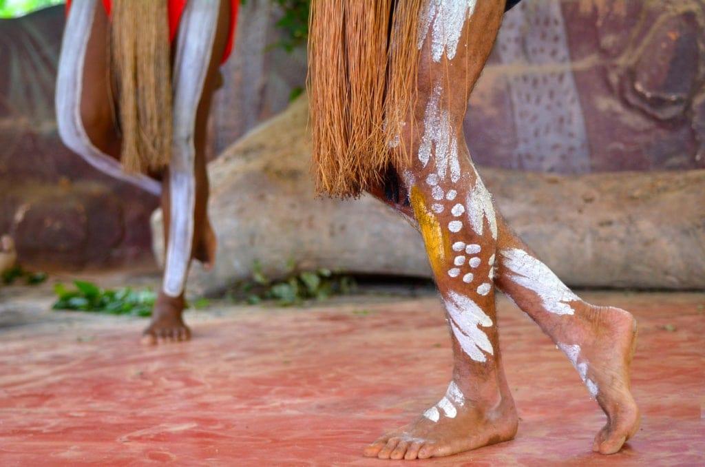 Aborigines-Tanz in Westaustralien