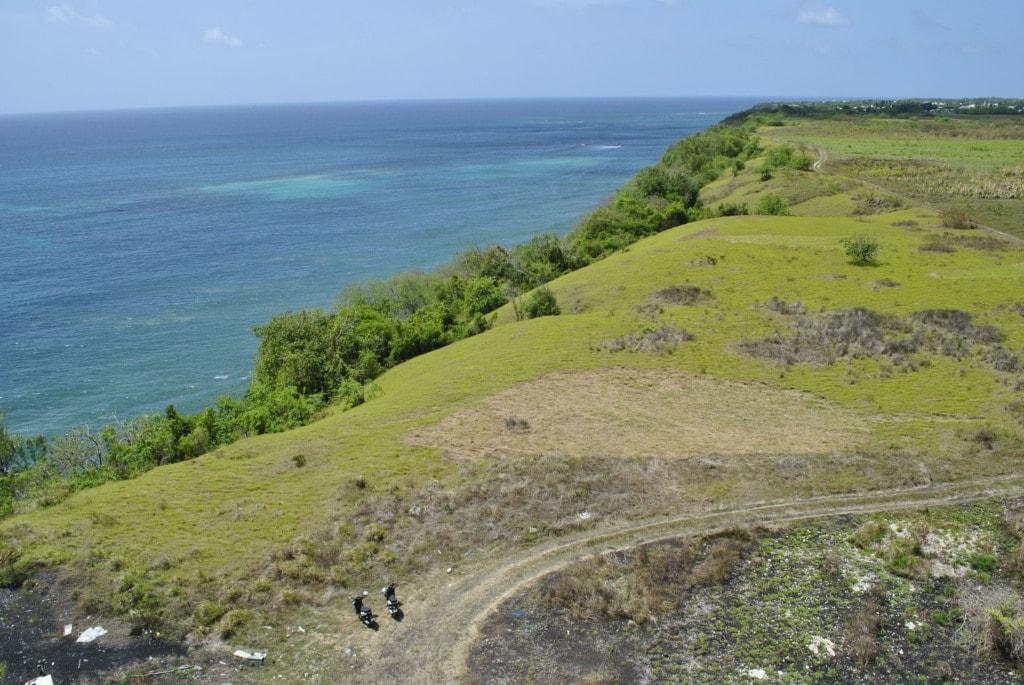 Urlaub auf Barbados: Blick vom Leuchtturm aufs Meer