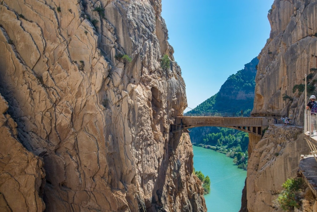 Caminito del Rey in Andalusien