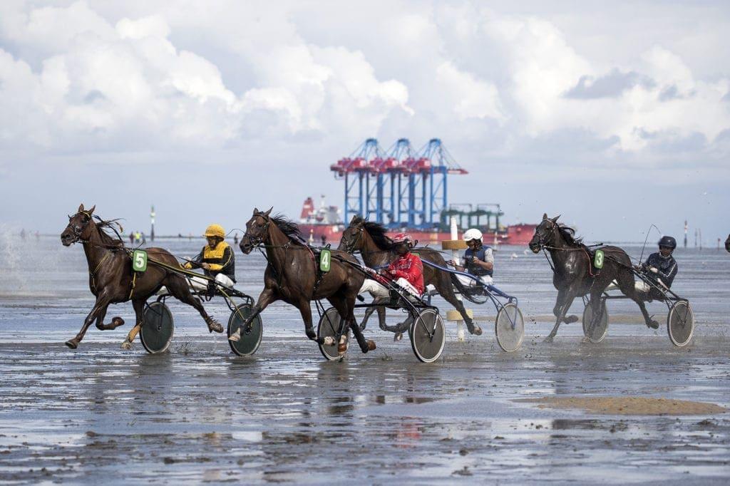 Duhner Wattrennen in Cuxhaven