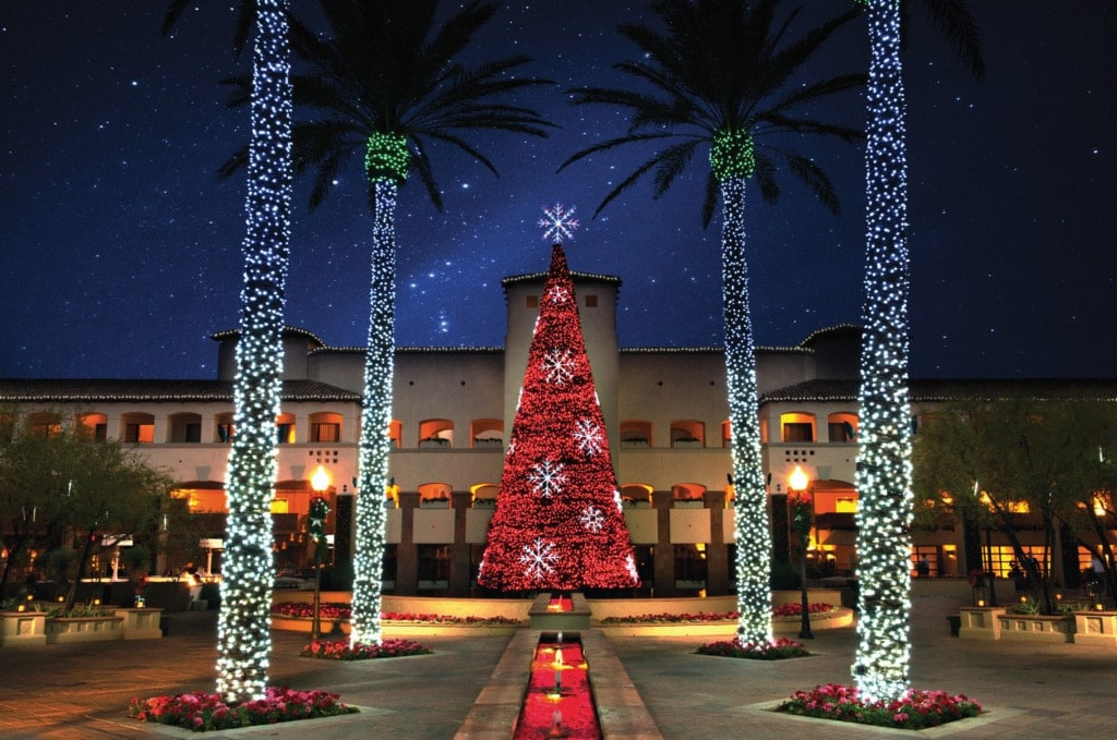 Christmas Tree in Scottsdale, Arizona