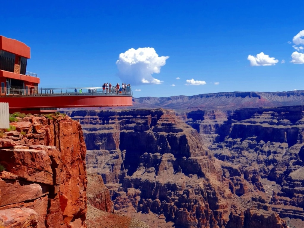 Reisen für Adrenalin-Junkies: Grand Canyon Skywalk