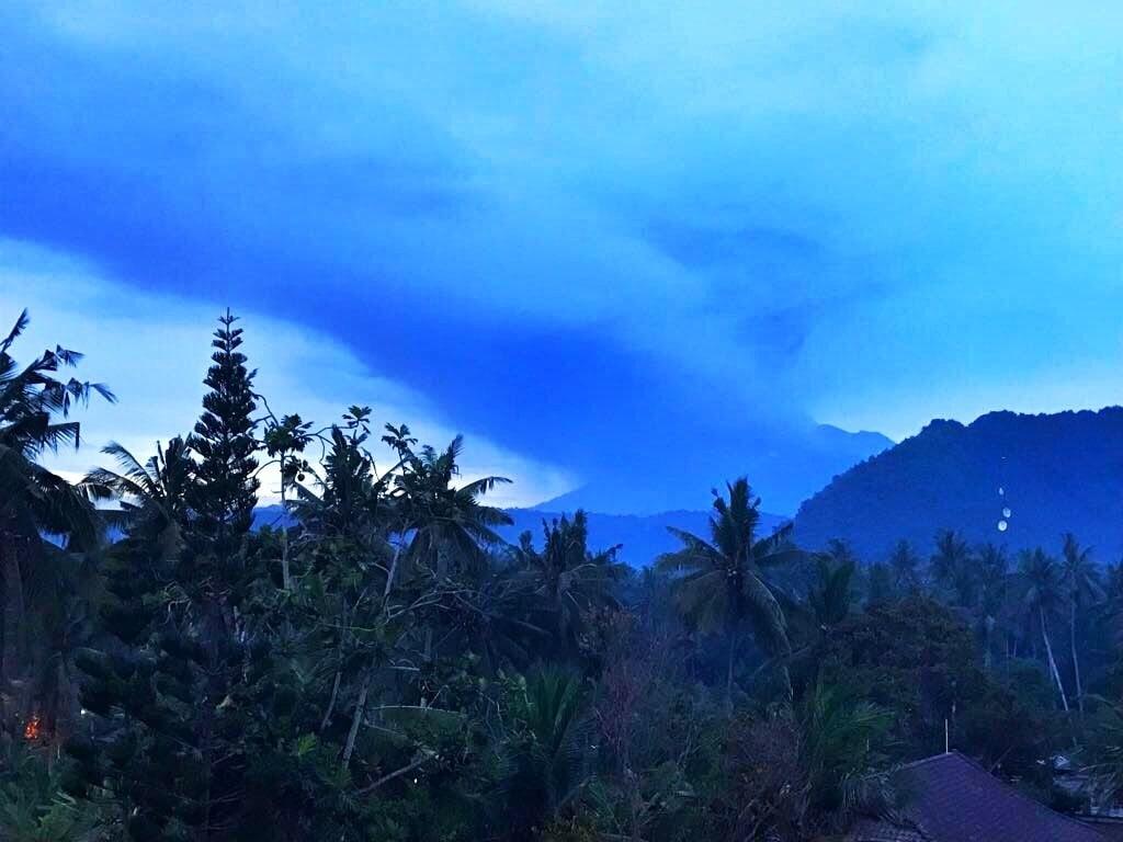 Vulkanausbruch Mount Agung - Bali