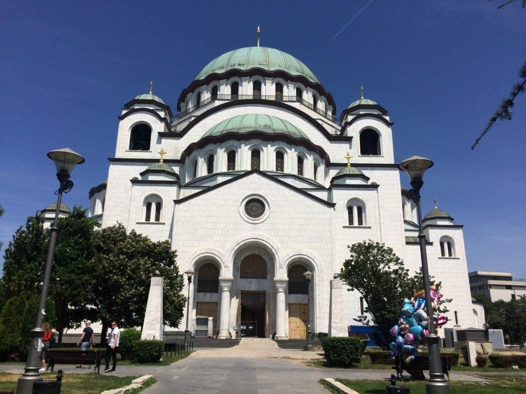 Kirche des heiligen Sava in Belgrad