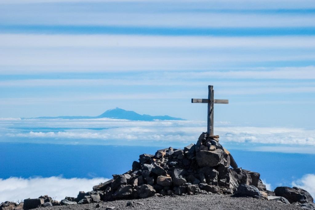 La Palma wandern: Pico de la Nieve