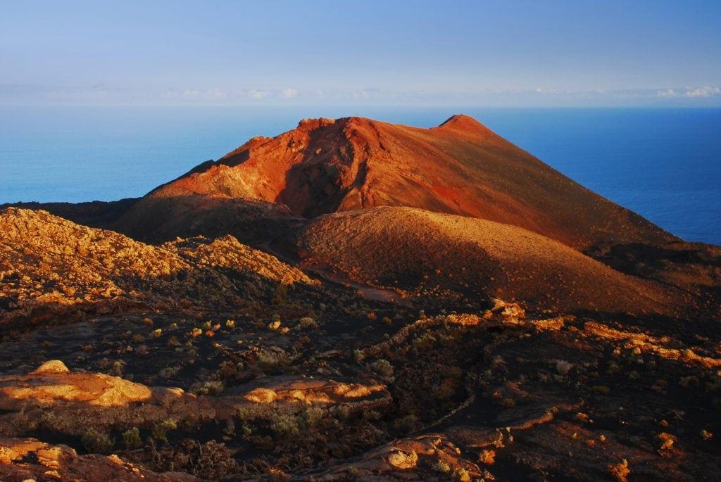 La Palma wandern: Vulkan