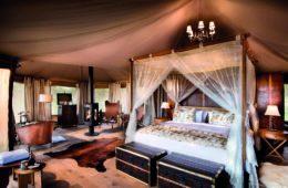 Die Luxuszelte des One Nature Resorts in der Serengeti.