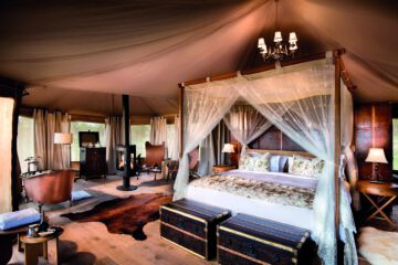Die Luxuszelte des One Nature Resorts in der Serengeti.