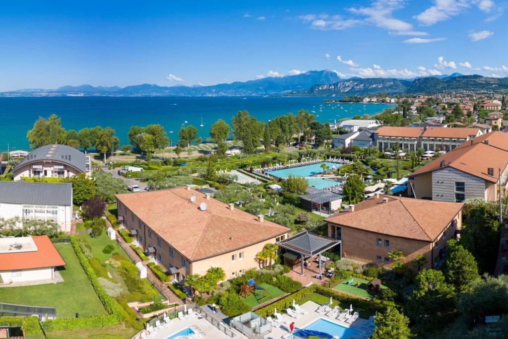 Dieses Luxushotel am Gardasee ist vor allem ein Paradies für Wellness-Liebhaber.