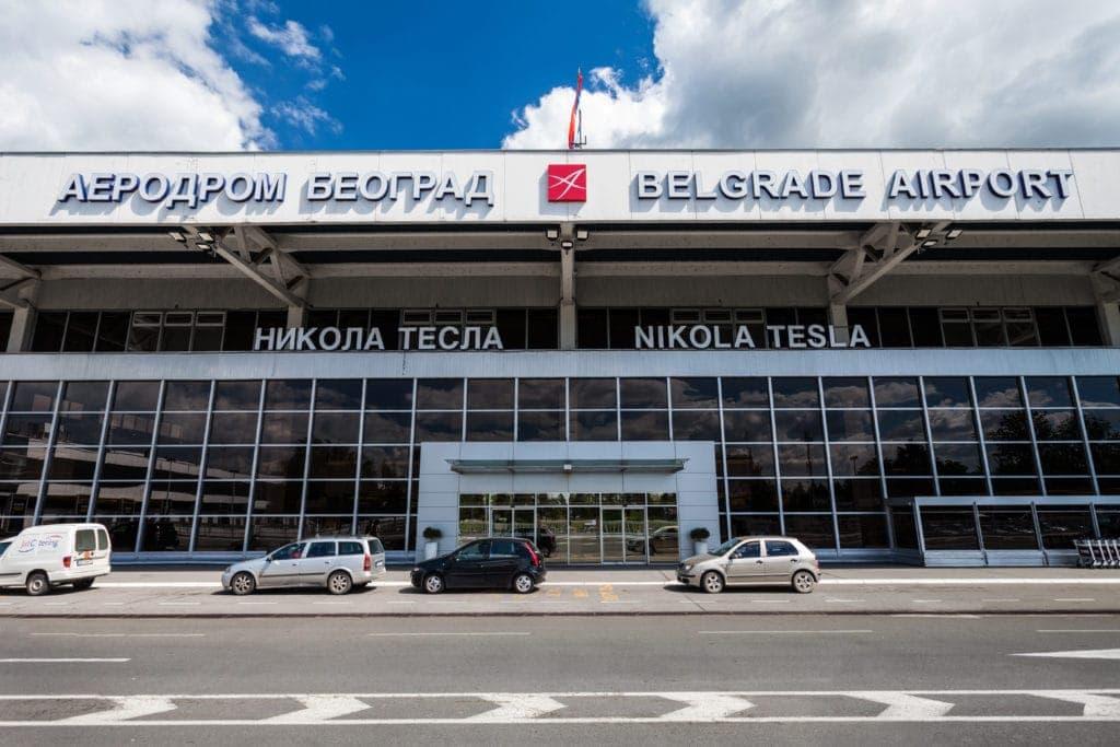 Nikola-Tesla-Flughafen in Belgrad