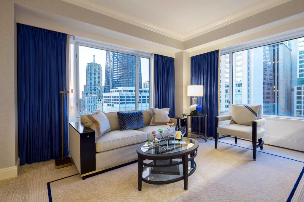 Premier Executive Suite im Peninsula Chicago