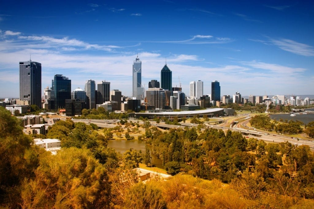 Perth in Westaustralien