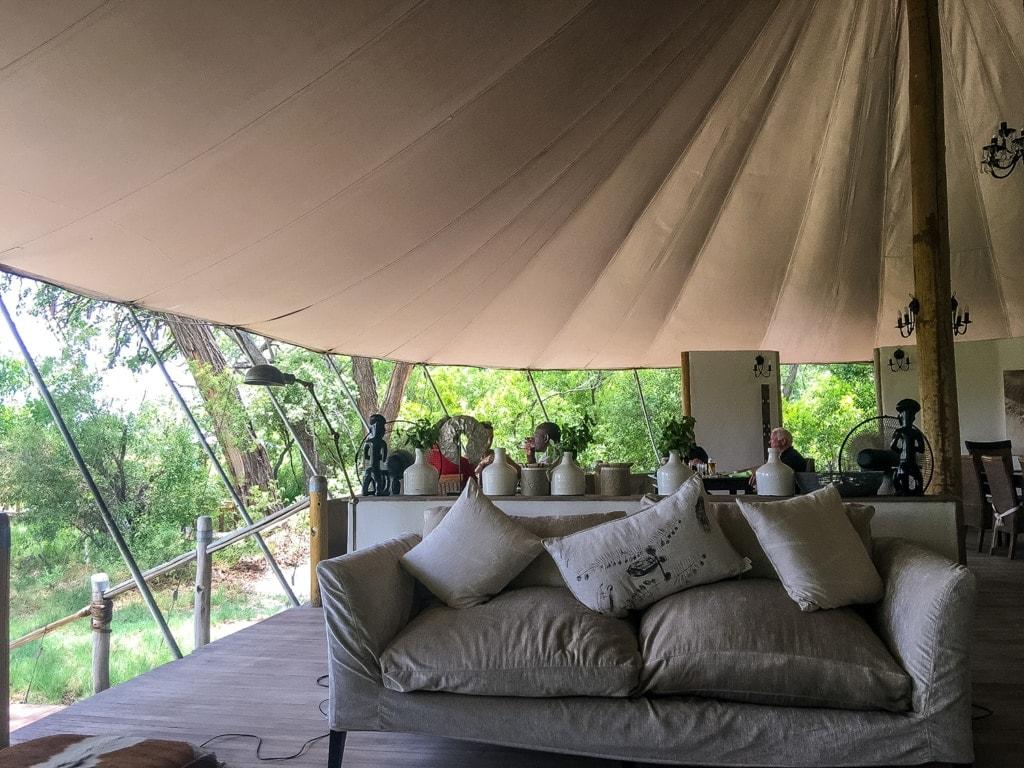 Stanley's Camp im Okavangodelta in Botswana