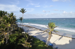 Urlaub auf Barbados: Crane Beach