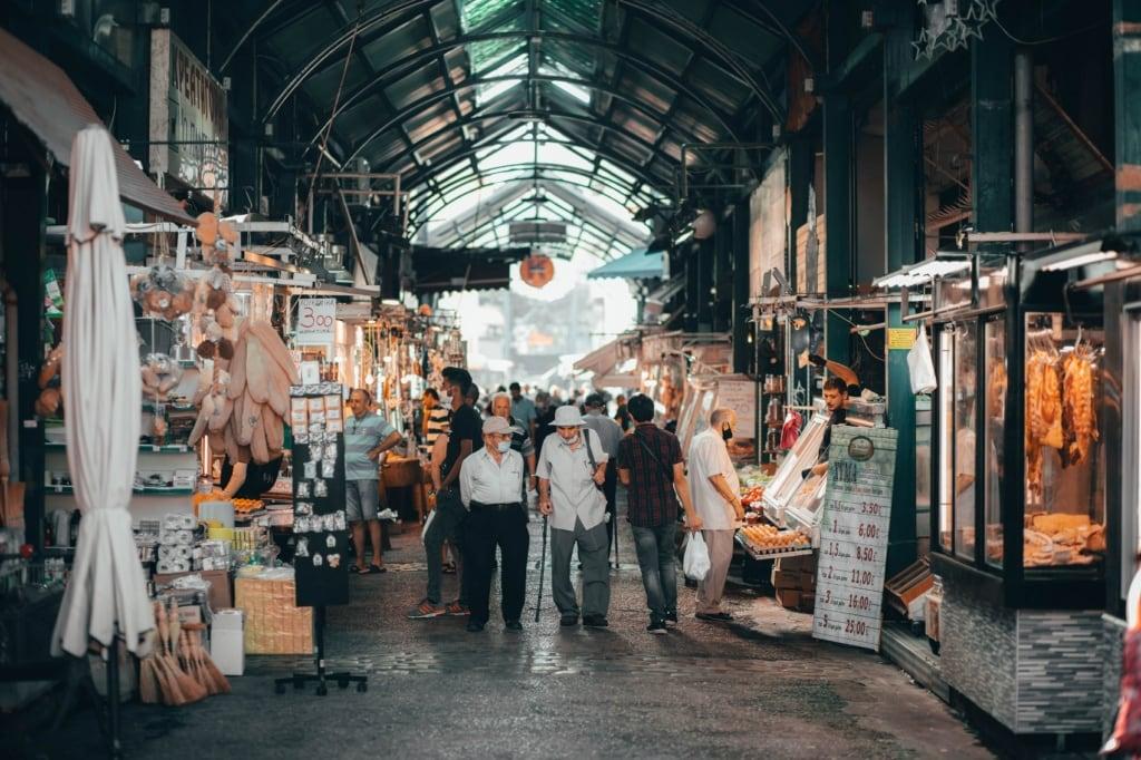 In Thessaloniki gibt es auf den Märkten viel zu entdecken.