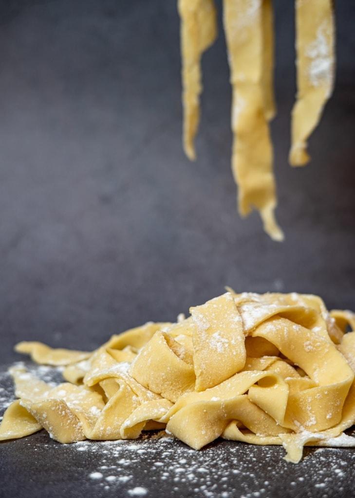 Pasta vom Feinsten am Gardasee in Italien.