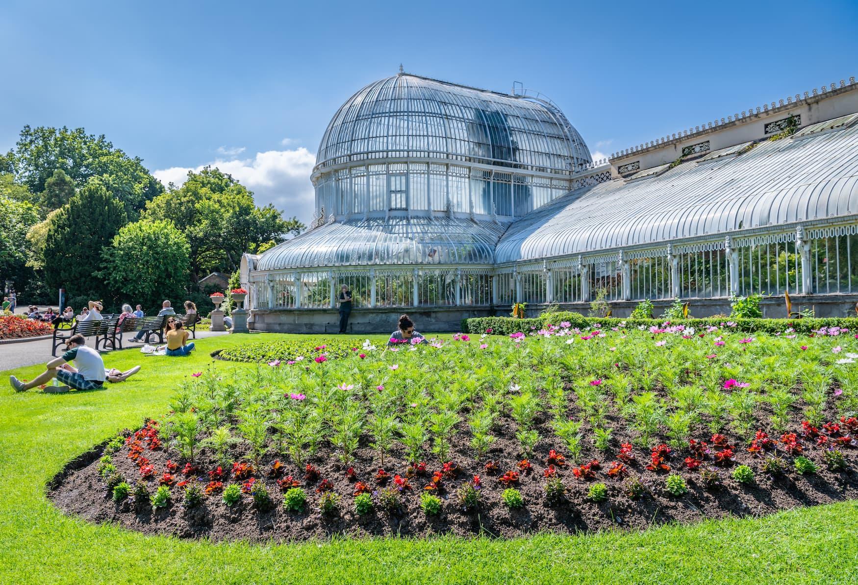 Belfast Botanic Gardens & Palm House, Northern Ireland