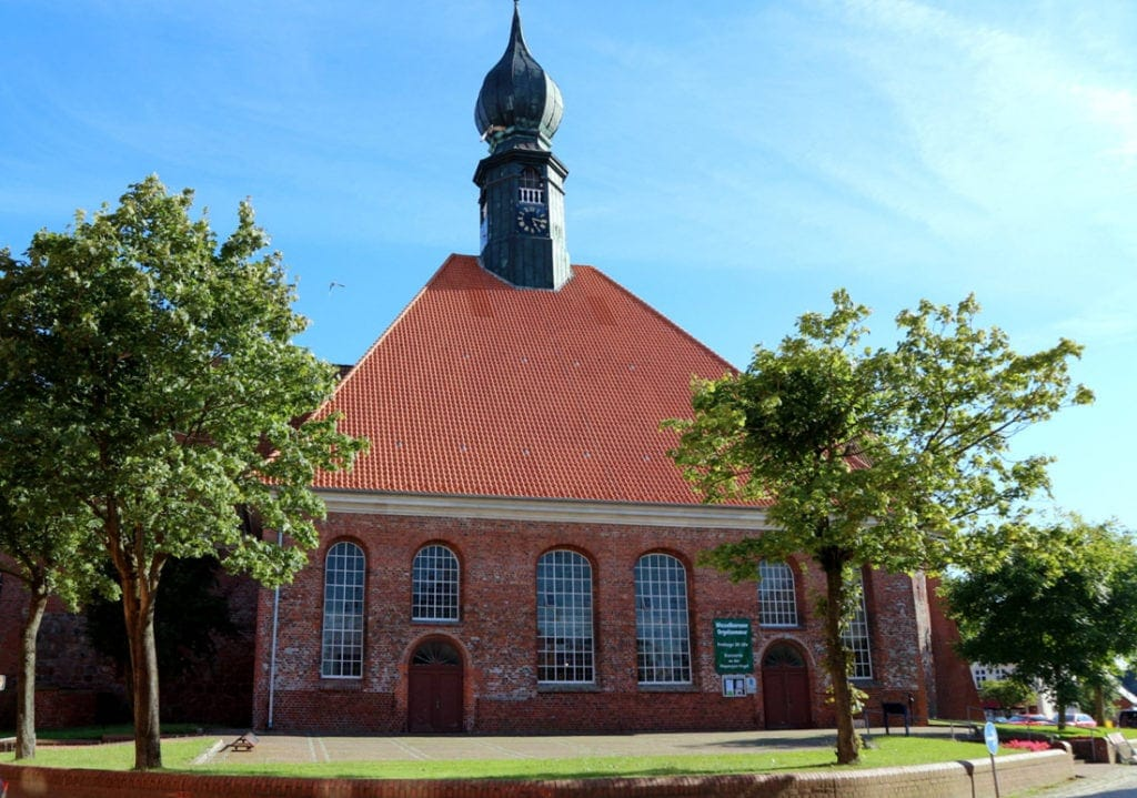 Kirche St. Batholomäus in Wesselburen