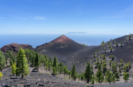 La Palma wandern: Vulkan St. Martin