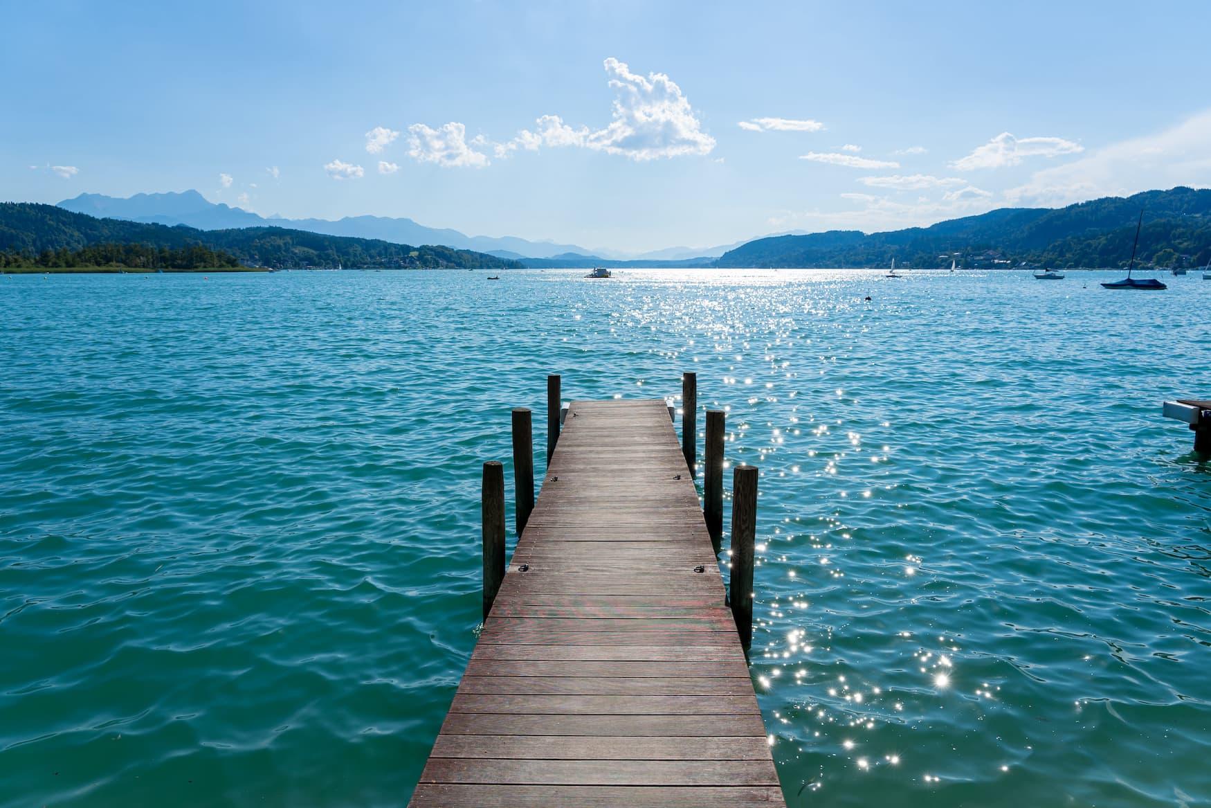 Dock am Wörthersee in Österreich