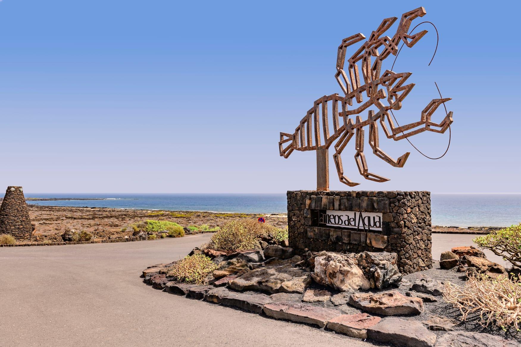 Statue, Lobster, Lanzarote
