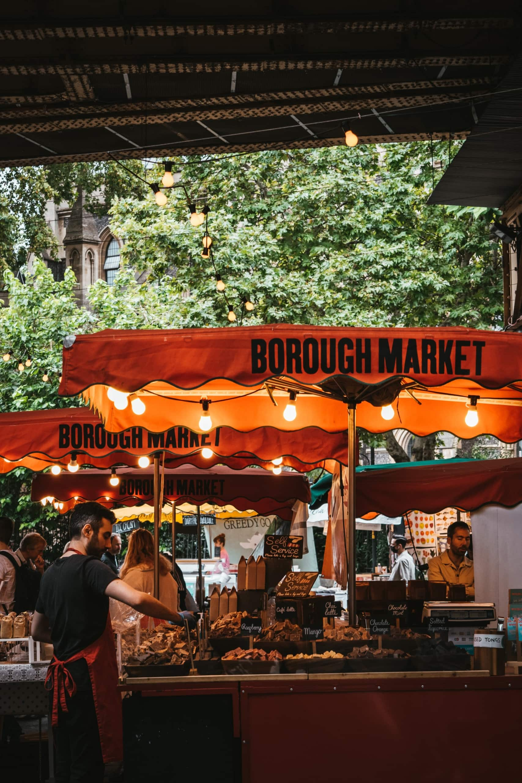 Bourough Markt in London