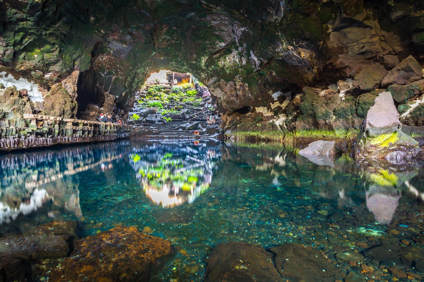 Lanzarote, Höhle, Insel