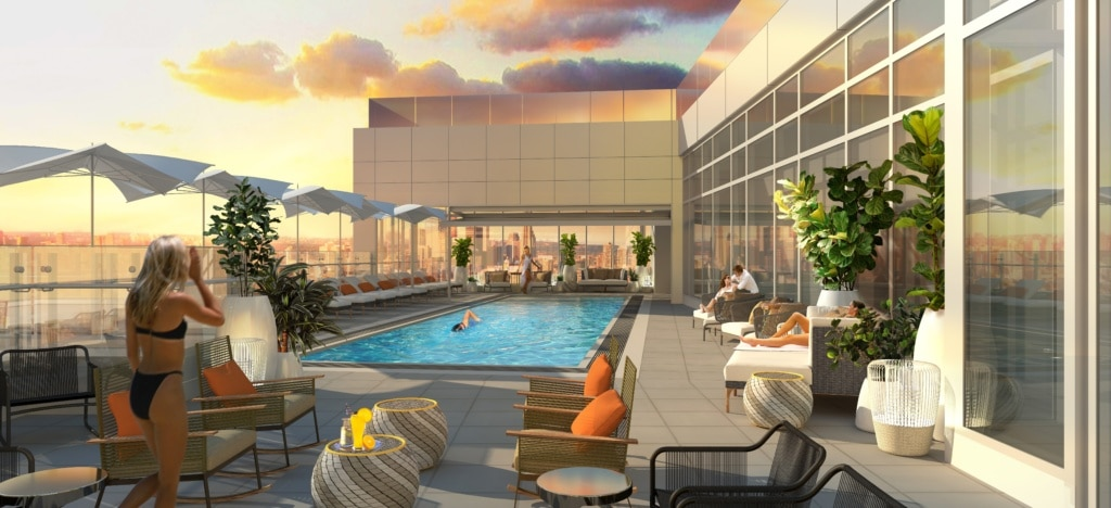 Das Hotel X schenkt Toronto ein neues Hotel - und einen Freizeitpark.