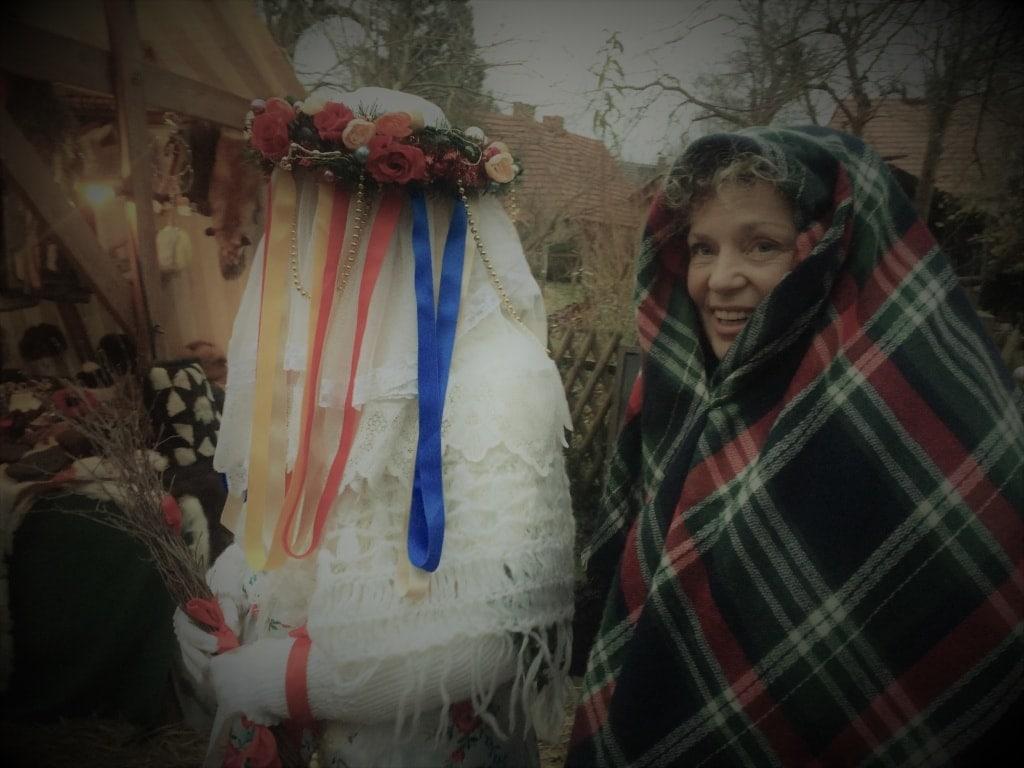 Bescherkind auf der Spreewaldweihnacht
