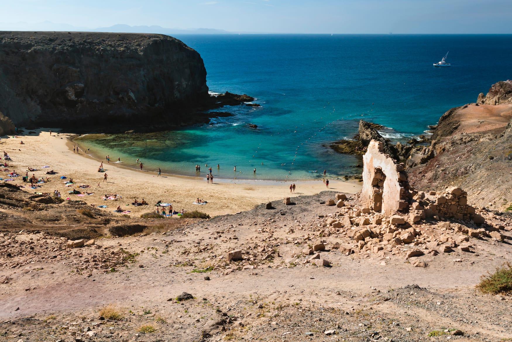 Strand, Playa, Lanzarote