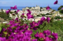 Akropolis, Burgberg mit Il Castello und Kathedrale San Bartolo, Insel Lipari, Liparische oder Äolische Inseln, Sizilien, Italien, Europa