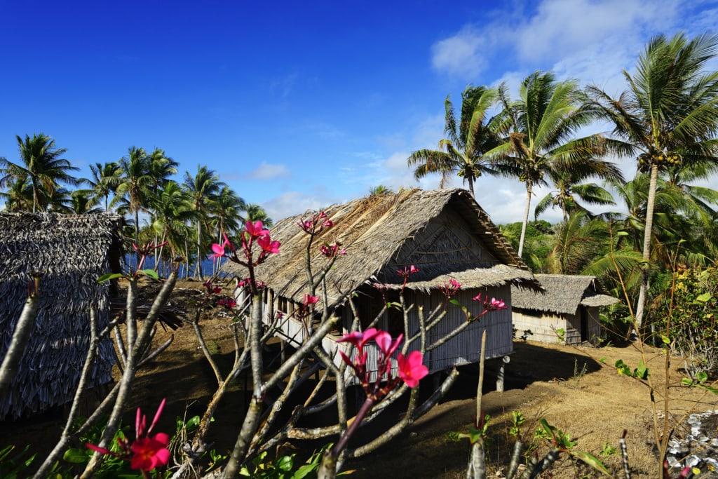 Guesthouse, Yavi Village, Tufi, Papua-Neuguinea, Ozeanien