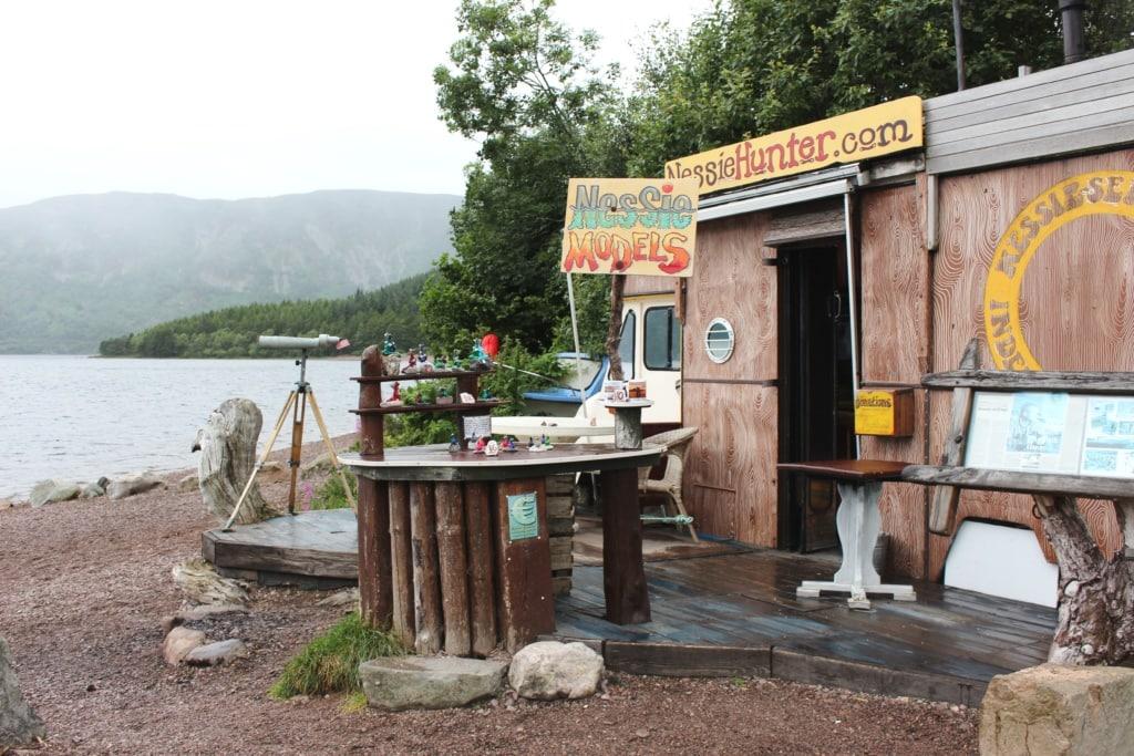 Suche nach Nessie: Haus am Ufer von Loch Ness