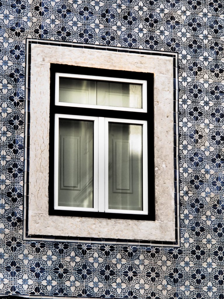 Kachelfassade in Lissabon