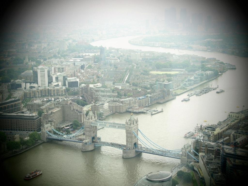 London von The Shard