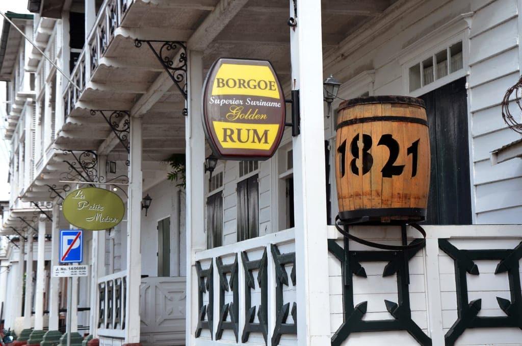 Geschäfte in Paramaribo