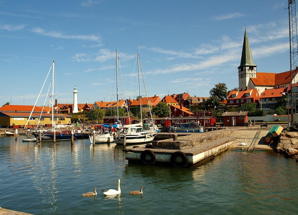 Hafen in Ronne