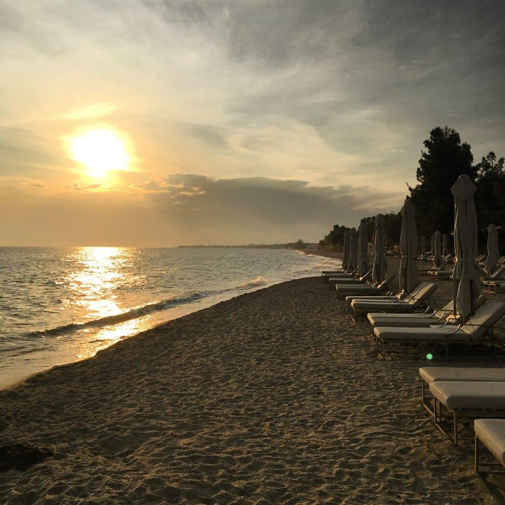 Strand im Ikos Oceania