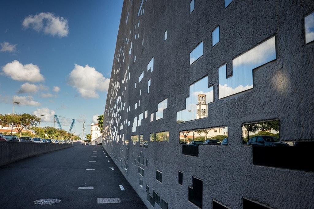 TEA Tenerife Espacio de las Artes in Santa Cruz auf Teneriffa
