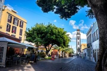 Zentrum von Santa Cruz auf Teneriffa