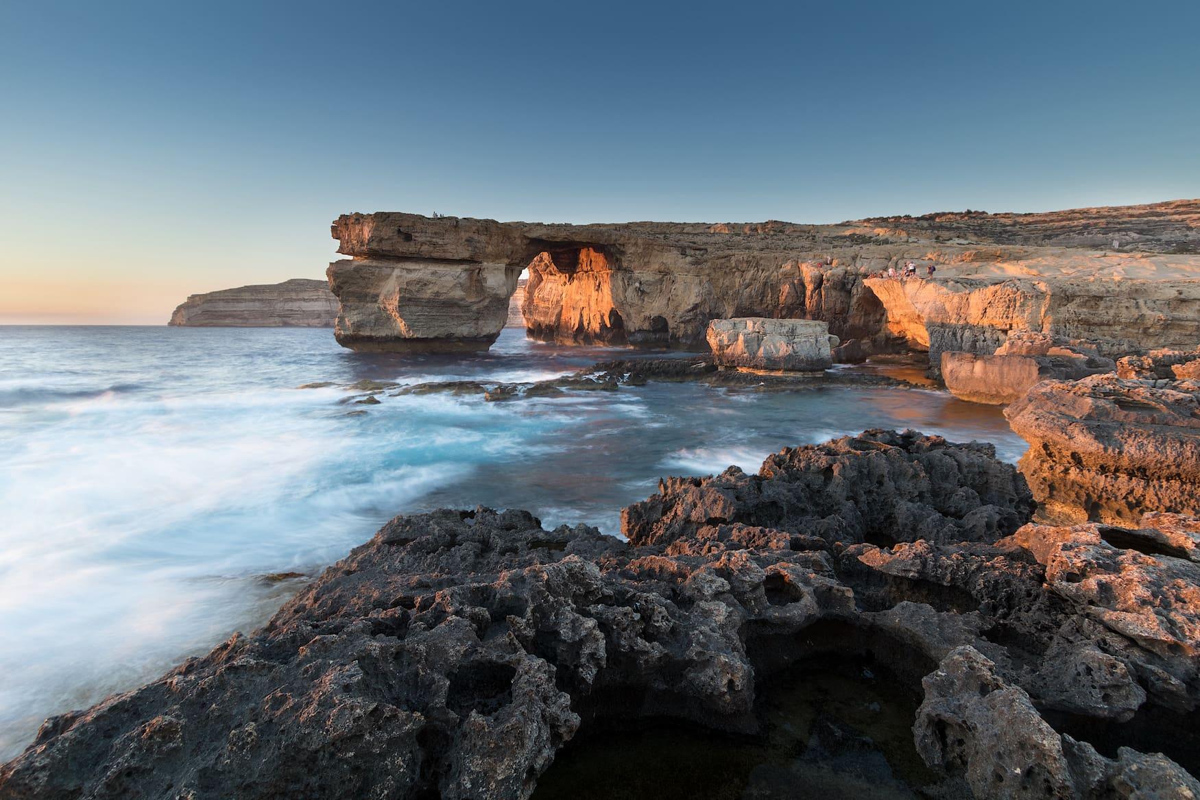 Azure Window an Küste von Gozo