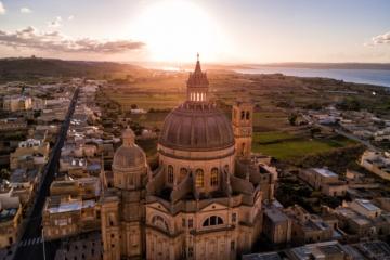 Rotunda St. John Baptist Kirche in Xewkija, Gozo