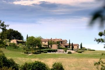 Castello di Reschio in Umbrien