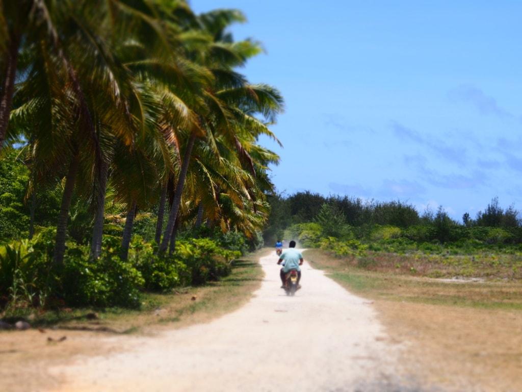 Straße auf den Cookinseln