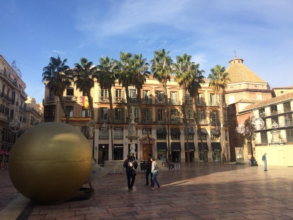 Plaza de la Constitucion in Malaga